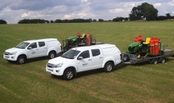 Isuzu's loaded and ready to go into action...